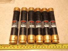 LOT OF 6 Bussmann FRS-R-60 Time-Delay Current Limiting Class RK5 Fuses 600V