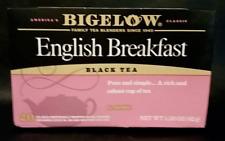 Bigelow English Breakfast Tea 20 Bags  Full-Caffeine Premium Black