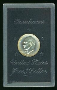 1974-S United States Proof 40% Silver Eisenhower Dollar Coin  CP666
