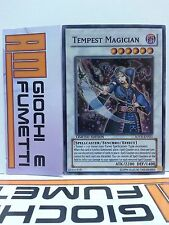 TEMPEST MAGICIAN in inglese YUGIOH RARA SUPER SYNCHRO
