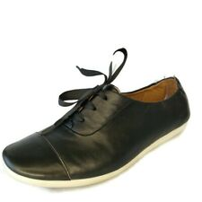 Clarks Artisan Black Leather Lace Up Casual Comfort Shoes Womens Size 10 US