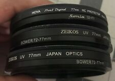 Camera Lens UV Filters Protector 77 mm Zeikos Hoya Sonia Bower