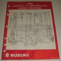 1995 SUZUKI WIRING DIAGRAM  MANUAL GSXR GSX DR VS LS VS 125 250 600 750 1100