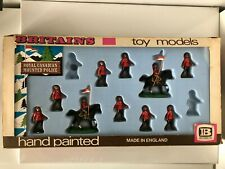 Vintage Britains Eyes Right Royal Canadian Mounted Police Figure Set #7695