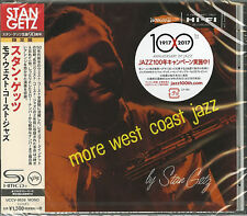 STAN GETZ-MORE WEST COAST JAZZ-JAPAN SHM-CD Ltd/Ed C94