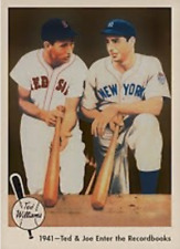 TED WILLIAMS JOE DIMAGGIO 59 ACEO ART CARD ## BUY 5 GET 1 FREE ## COM SHIPPING