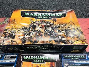 Games Workshop Warhammer 40,000 40k 3rd Edition Starter Box Set Incomplete 90%?