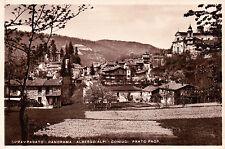 CARTOLINA DI PAMPARATO CUNEO ALBERGO ALPI CONIUGI PRATO 1925  C4-K46