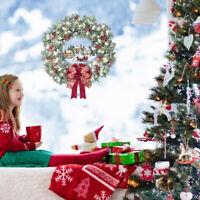 Warm Winter Gift Wreath Stickers Merry Christmas Home Door Window Decals