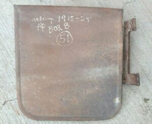 1915 1925 Model T Ford Roadster RIGHT FRONT DOOR w/ HINGE Original Touring