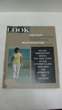 Look Magazine April 4th 1967 Asia Now Former Ambassador To Japan Montreal's Fair