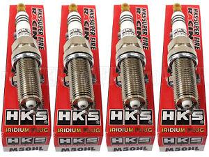 [Set of 4] HKS 50003-M50HL Super Fire Racing Iridium Spark Plugs Heat Range #10