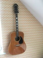 Epiphone acoustic guitar FT-150 early 70's Japan