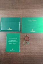 Reloj Rolex GMT Master 11 2014 manual de instrucciones, set y etiqueta de la caída del Reino Unido genuina