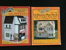 Lot * Houseworks * Dollhouse Plan Book-Victorian Colonial Georgian & Les Shoppes