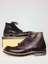 Deadstock NIB 1960's Foot-So-Port Supreme Vintage Leather Work Boots 9 AA USA