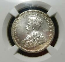 India 1934 Calcutta Mint 1/2 Rupee NGC MS64 Showing Blazing Cartwheel Luster