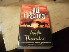 Night Thunder by Jill Gregory (2004, Paperback)  r