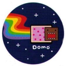 Domo-Kun Poptart Nyan Cat Domo-Kun 1.25 Inch Button