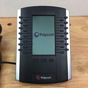 Polycom 2201-46350-001 VVX Color Expansion Module + Base Stand + Connector Cable