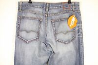 ORANGE LABEL Mens HUGO BOSS Jeans STRAIGHT HB 31 Button Fly W36 L34 Casuals P20