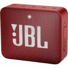 JBL GO 2 Portable Bluetooth Waterproof Speaker Red (JBLGO2REDAM)