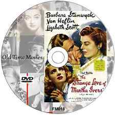 The Strange Love of Martha Ivers - Barbara Stanwyck, Kirk Douglas film DVD 1946