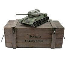 1:16 Torro Russia T34/85 Rc Tank 2.4Ghz Infrared Metal Edition Pro