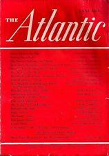 The Atlantic Jan 1940 BERNARD DE VOTO AGNES REPPLIER HARPER'S FERRY WAGNER ACT