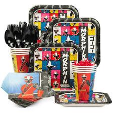 Power Rangers Ninja Steel Party Supplies,Tableware & Decorations