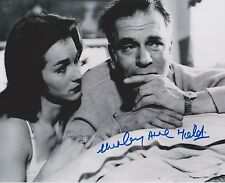 Shirley Anne Field Signed 8x10 Photo -THE ENTERTAINER  Sir Laurence Olivier G715