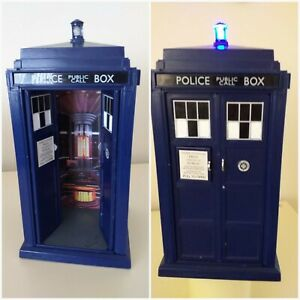 "Doctor who Tardis 12th.Tardis, 9""flight control,light & sound."