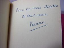 Envoi autographe / Pierre Brisson LES DEUX VISAGES DE RACINE