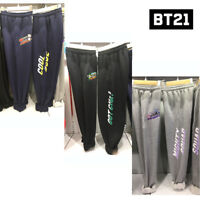 BTS BT21 Official Authentic Goods Jersey Pants by LINE FRIENDS + Tracking Number