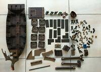 Mega Blocks Bateau/Navire Pirate Ship Bundle incomplet-pièces détaché | réf:9895