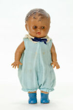 "Vintage Tod-L-Tim Rubber 10"" Doll with Clothes"