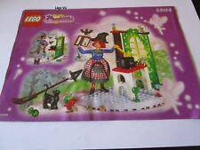 Lego 5804 Belville Notice Instruction Witch's Cottage