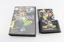 GIOCO MEGADRIVE ANDRE AGASSI TENNIS UK PAL COMPLETO