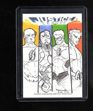 2016 Cryptozoic DC Justice league Barush Merling sketch card