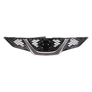 NI1200288 NEW Replacement Front Grille Fits 2017-2018 Nissan Rogue Sport