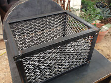 BBQ Smoker Charcoal Wood Basket. Heavy Duty! XL 18x12x10