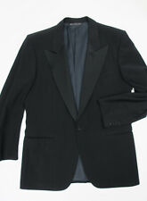 ERMENEGILDO ZEGNA Tuxedo Suit Jacket 40R one button peak lapels Blazer