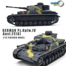 DRAGON GERMAN Pz.Kpfw.IV Ausf.F2(G) 1:72 Finished Tank Model non diecast