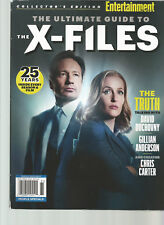 ENTERTAINMENT WEEKLY MAGAZINE COLLECTOR'S EDITION THE ULTIMATE GUIDE TO X-FILES