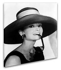 Leinwandbild Wandbild Keilrahmenbild Audrey Hepburn Kunstdruck