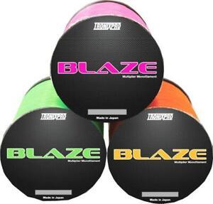 TronixPro Blaze Mono - Multiplier Mono Line / Green, Orange or Purple / Fishing