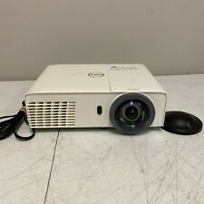 Dell S320Wi HDMI 3D XGA DLP Projector Tested and Working 931 Lamp Hours