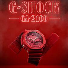 Casio G-shock Ga-2100-4aer Carbon Core Guard Structure Release 2019