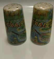 Salt and pepper shakers Texas Vintage