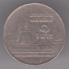 Thailandia 1 BAHT 1993 moneta di rame-nichel-Phra kaew Temple, BANGKOK-RAMA IX